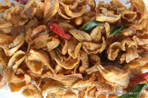 Fried Crystal Fish ( Tom Yam Taste )